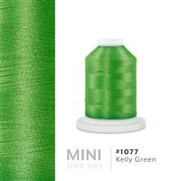 Kelly Green # 1077 Iris Polyester Embroidery Thread - 1100 Yds THUMBNAIL