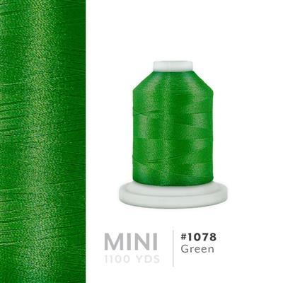 Green # 1078 Iris Polyester Embroidery Thread - 1100 Yds MAIN
