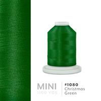 Xmas Green # 1080 Iris Polyester Embroidery Thread - 1100 Yds THUMBNAIL