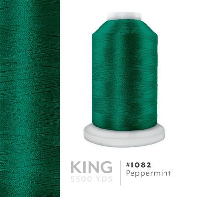 Peppermint # 1082 Iris Trilobal Polyester Thread - 5500 Yds MAIN