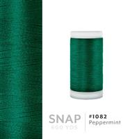 Peppermint # 1082 Iris Polyester Embroidery Thread - 600 Yd Snap Spool THUMBNAIL