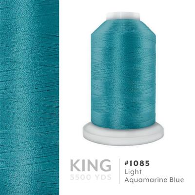 Lt. Aquamarine Blue # 1085 Iris Trilobal Polyester Thread - 5500 Yds MAIN