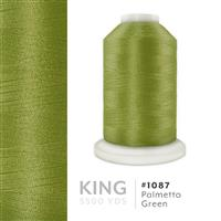Palmetto Green # 1087 Iris Trilobal Polyester Machine Embroidery & Quilting Thread - 5500 Yds THUMBNAIL