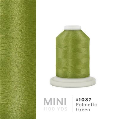 Palmetto Green # 1087 Iris Polyester Embroidery Thread - 1100 Yds MAIN