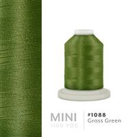 Grass Green # 1088 Iris Polyester Embroidery Thread - 1100 Yds THUMBNAIL