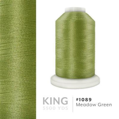 Meadow Green # 1089 Iris Trilobal Polyester Thread - 5500 Yds MAIN