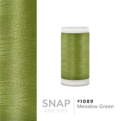 Meadow Green # 1089 Iris Polyester Embroidery Thread - 600 Yd Snap Spool MAIN