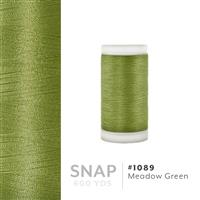Meadow Green # 1089 Iris Polyester Embroidery Thread - 600 Yd Snap Spool THUMBNAIL