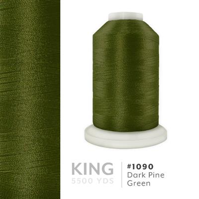 Dark Pine Green # 1090 Iris Trilobal Polyester Thread - 5500 Yds MAIN