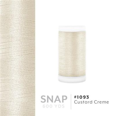 Custard Crème # 1093 Iris Polyester Embroidery Thread - 600 Yd Snap Spool MAIN