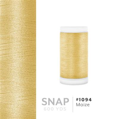 Maize # 1094 Iris Polyester Embroidery Thread - 600 Yd Snap Spool MAIN