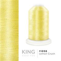 Lemon Crush # 1098 Iris Trilobal Polyester Machine Embroidery & Quilting Thread - 5500 Yds THUMBNAIL