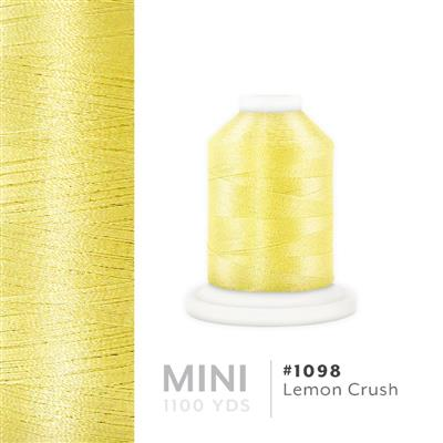 Lemon Crush # 1098 Iris Polyester Embroidery Thread - 1100 Yds MAIN