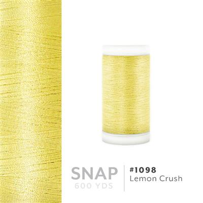 Lemon Crush # 1098 Iris Polyester Embroidery Thread - 600 Yd Snap Spool MAIN