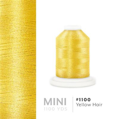 Yellow Hair # 1100 Iris Polyester Embroidery Thread - 1100 Yds MAIN