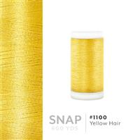 Yellow Hair # 1100 Iris Polyester Embroidery Thread - 600 Yd Snap Spool THUMBNAIL
