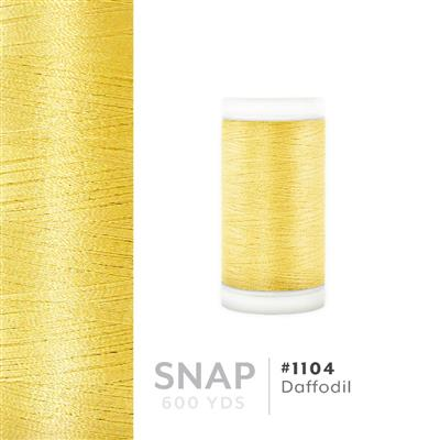 Daffodil # 1104 Iris Polyester Embroidery Thread - 600 Yd Snap Spool MAIN