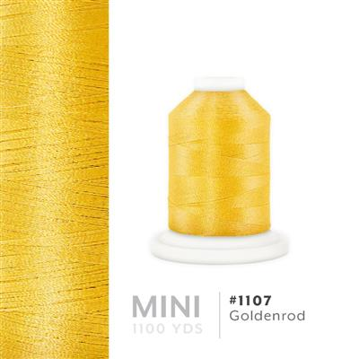 Goldenrod # 1107 Iris Polyester Embroidery Thread - 1100 Yds MAIN