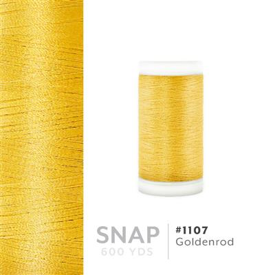 Goldenrod # 1107 Iris Polyester Embroidery Thread - 600 Yd Snap Spool MAIN