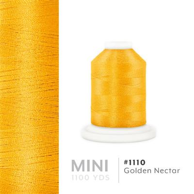 Golden Nectar # 1110 Iris Polyester Embroidery Thread - 1100 Yds MAIN