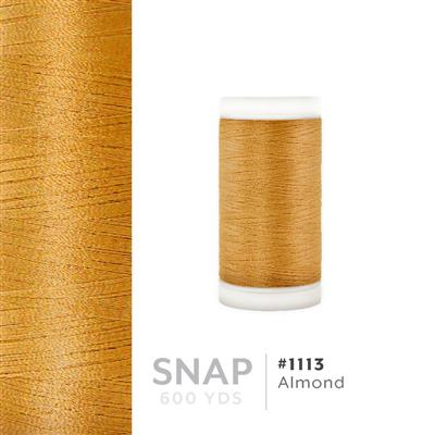 Almond # 1113 Iris Polyester Embroidery Thread - 600 Yd Snap Spool MAIN