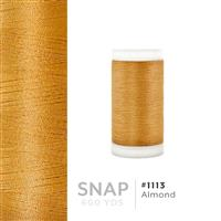 Almond # 1113 Iris Polyester Embroidery Thread - 600 Yd Snap Spool THUMBNAIL
