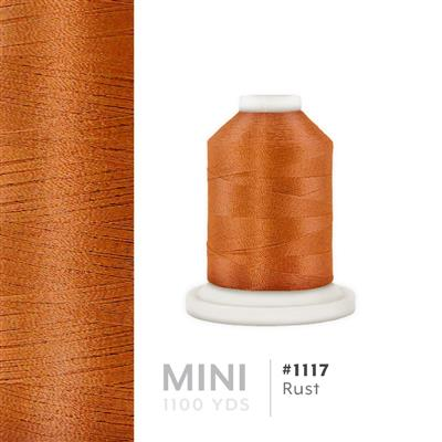 Rust # 1117 Iris Polyester Embroidery Thread - 1100 Yds MAIN