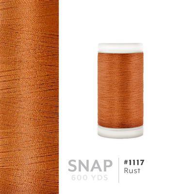 Rust # 1117 Iris Polyester Embroidery Thread - 600 Yd Snap Spool MAIN