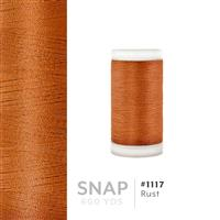 Rust # 1117 Iris Polyester Embroidery Thread - 600 Yd Snap Spool THUMBNAIL