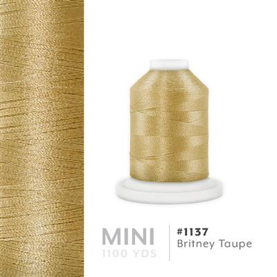 Britney Taupe # 1137 Iris Polyester Embroidery Thread - 1100 Yds MAIN
