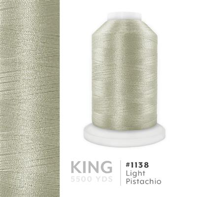 Lt. Pistachio # 1138 Iris Trilobal Polyester Thread - 5500 Yds MAIN