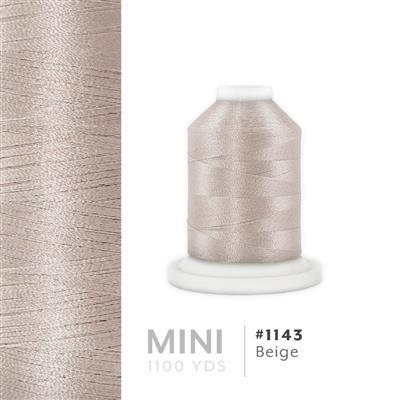 Beige # 1143 Iris Polyester Embroidery Thread - 1100 Yds MAIN