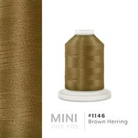 Brown Herring # 1146 Iris Polyester Embroidery Thread - 1100 Yds THUMBNAIL