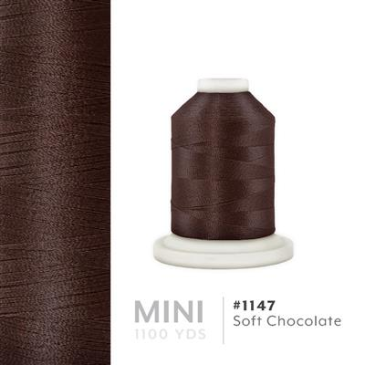 Soft Chocolate # 1147 Iris Polyester Embroidery Thread - 1100 Yds MAIN