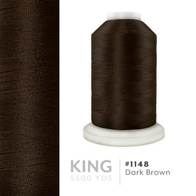 Dark Brown # 1148 Iris Trilobal Polyester Thread - 5500 Yds MAIN