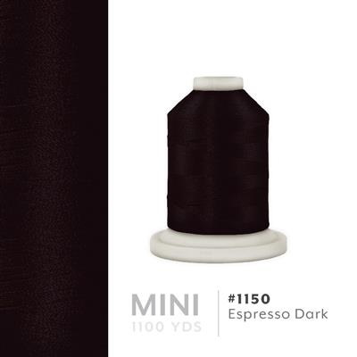 Expresso Dark # 1150 Iris Polyester Embroidery Thread - 1100 Yds MAIN