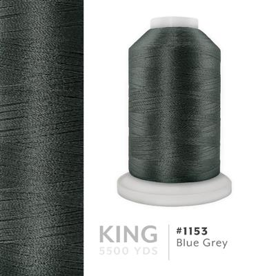 Blue Grey # 1153 Iris Trilobal Polyester Thread - 5500 Yds MAIN