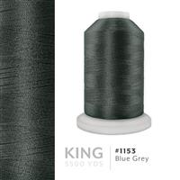 Blue Grey # 1153 Iris Trilobal Polyester Machine Embroidery & Quilting Thread - 5500 Yds THUMBNAIL