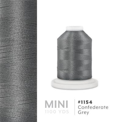 Confederate Gray # 1154 Iris Polyester Embroidery Thread - 1100 Yds MAIN