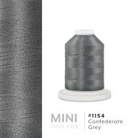 Confederate Gray # 1154 Iris Polyester Embroidery Thread - 1100 Yds THUMBNAIL