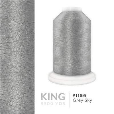 Grey Sky # 1156 Iris Trilobal Polyester Thread - 5500 Yds MAIN