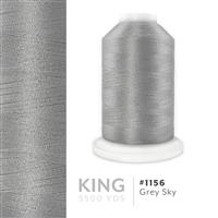 Grey Sky # 1156 Iris Trilobal Polyester Machine Embroidery & Quilting Thread - 5500 Yds THUMBNAIL