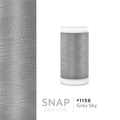Grey Sky # 1156 Iris Polyester Embroidery Thread - 600 Yd Snap Spool MAIN