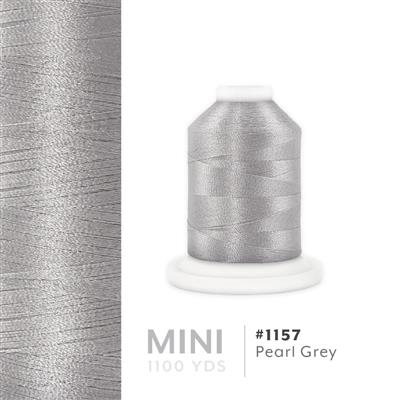 Pearl Grey # 1157 Iris Polyester Embroidery Thread - 1100 Yds MAIN