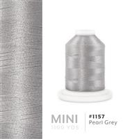 Pearl Grey # 1157 Iris Polyester Embroidery Thread - 1100 Yds THUMBNAIL