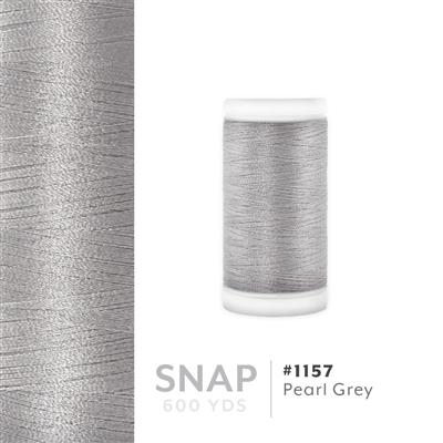 Pearl Grey # 1157 Iris Polyester Embroidery Thread - 600 Yd Snap Spool MAIN