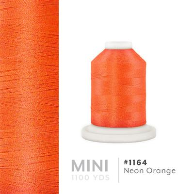 Neon Orange # 1164 Iris Polyester Embroidery Thread - 1100 Yds MAIN
