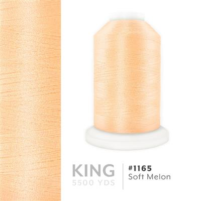 Soft Melon # 1165 Iris Trilobal Polyester Thread - 5500 Yds MAIN