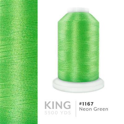 Neon Green # 1167 Iris Trilobal Polyester Thread - 5500 Yds MAIN