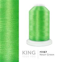 Neon Green # 1167 Iris Trilobal Polyester Thread - 5500 Yds THUMBNAIL